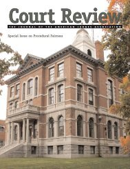 Special Issue on Procedural Fairness - Procedural Fairness Home