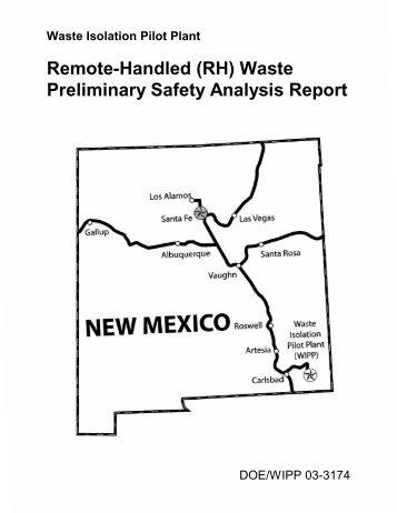 DOE 2000. - Waste Isolation Pilot Plant - U.S. Department of Energy