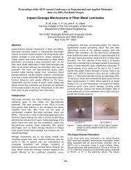 Impact Damage Mechanisms in Fiber-Metal Laminates - Mechanical ...