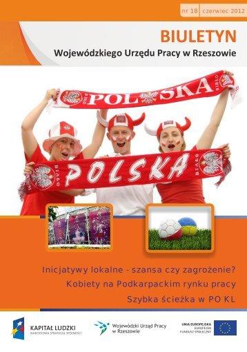 Biuletyn Wojewódzkiego Urzędu Pracy w Rzeszowie nr 18/2012