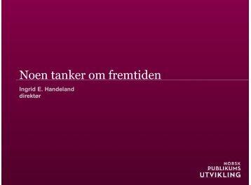 Veien_videre - Norsk publikumsutvikling