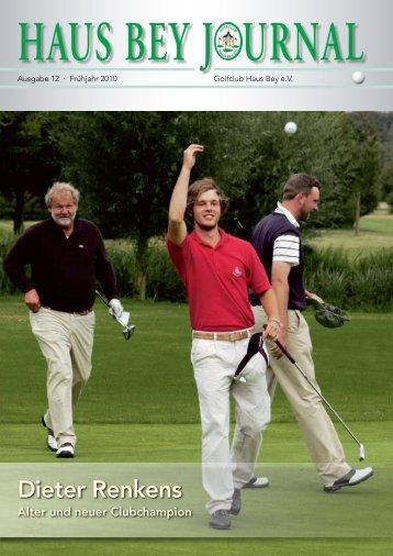 Dieter Renkens - Golfclub Haus Bey