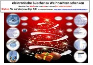 elektronische Buecher zu Weihnachten schenken
