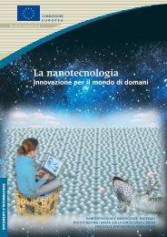 La nanotecnologia. Innovazione per il mondo di domani - Europa