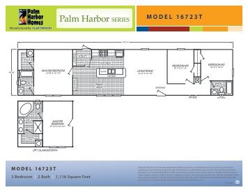Floor Plan and Building Specs (270 KB) - Palm Harbor Homes