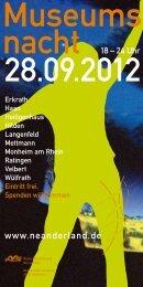 Museumsnacht 2012 - Neanderland