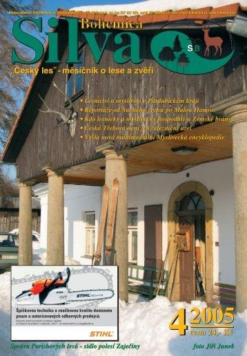 """""""Český les""""- měsíčník o lese a zvěři - ajta.eu"""