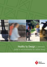 Healthy by Design: a planners' guide to environments for active living