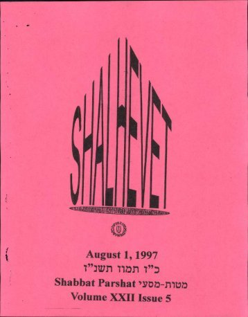 1997 Issue 5.pdf - Camp Morasha