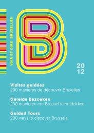 Visites guidées 200 manières de découvrir Bruxelles - World Travel ...