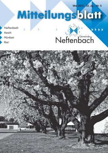 15. Mai - Gemeinde Neftenbach