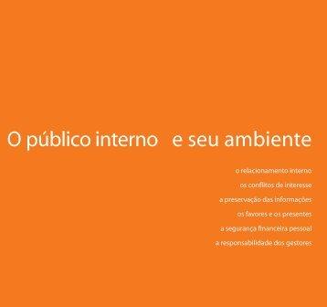 O público interno e seu ambiente