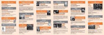 Interim Programmheft Januar bis März 2009