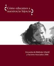 Encuesta de Maltrato Infantil 2006 - Unidad de Encuestas y Análisis ...