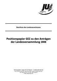 Arbeitspapier GEZ formatiert - Junge Union Kreisverband Landshut
