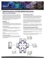 Helix Media Library - RealNetworks