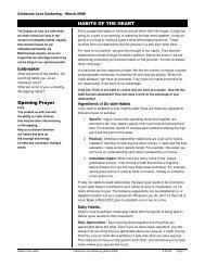 RESPONSIBLE HONESTY Icebreaker Opening Prayer - PMRC