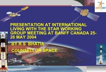 Indian Presentation at ILWS Working Group Meeting - International ...