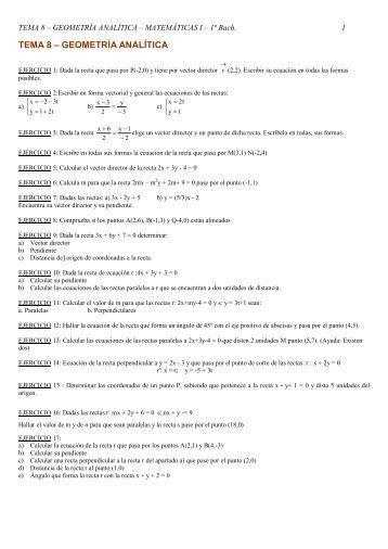 Ejercicios 8 - Geometria Analitica.pdf