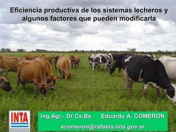 Eficiencias en los sistemas lecheros argentinos