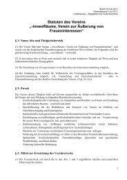 """Statuten des Vereins """"-innenRäume, Verein zur Äußerung von ..."""