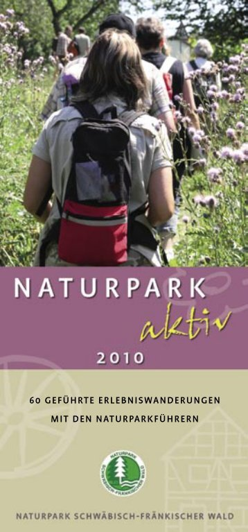 Natur. Mehr erleben. Naturparke. - Naturpark Schwäbisch ...