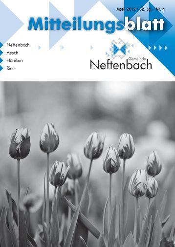 15. April - Gemeinde Neftenbach