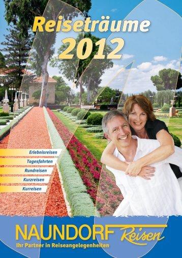 Reisekatalog 2012 - Naundorf-Reisen