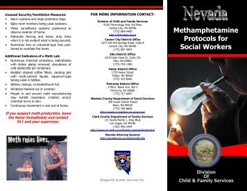 Methamphetamine Protocols for Social Workers - Division of Child ...