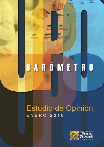 Upobarómetro - Universidad Pablo de Olavide