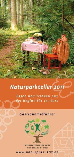 Naturparkteller 2011 - Naturpark Schwäbisch Fränkischer Wald