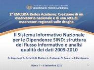 Genetti - Sistema informativo SIND - Dipartimento per le politiche ...