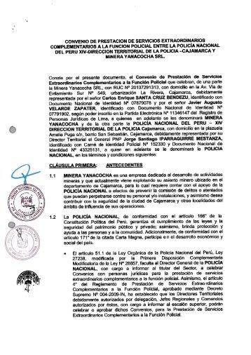 Informaci N Polic A Nacional Del Per