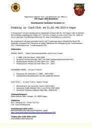 Flyer Coach Clinic - Wbv