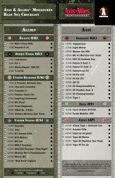 Base Set Checklist - Wizards of the Coast