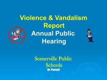 Midyear Report to the BOE - Somerville Public School District ...