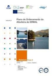 Relatório Plano de Ordenamento da Albufeira do ERMAL - Agência ...