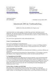 Jahresbericht 2005 - Triathlon Team Gemünden
