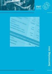 Jaarverslag 2011 - Pensioenfonds Metaal en Techniek