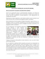 ¿Qué es la ACVC? - Agencia Prensa Rural