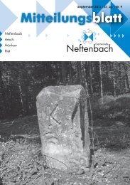 15. September - Gemeinde Neftenbach