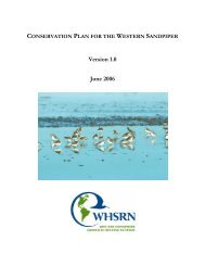 species conservation assessment and strategies - Western ...