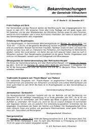 Nr. 47/ Woche 51 / 23. Dezember 2011 - Gemeinde Villnachern
