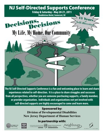 Decisions, Decisions My Life, My Home, Our Community - UMDNJ