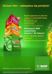 Kupon konkursowy - BASF Polska