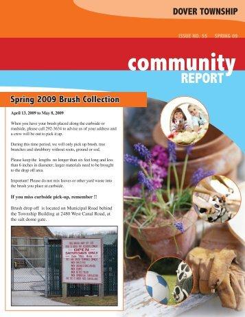 Spring Newsletter - Dover Township