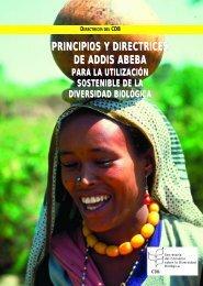 Principios y directrices de Addis Abeba para la utilización sostenible ...