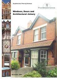 Windows, Doors and Architectural Joinery - Fylde Borough Council