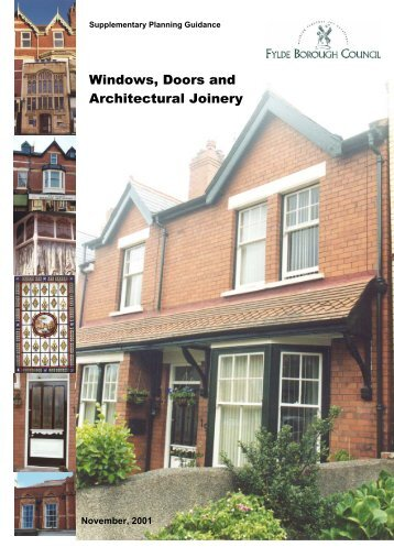 Windows Doors and Architectural Joinery - Fylde Borough Council & Ultra Co