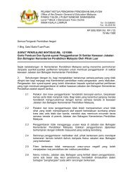 SURAT PEKELILING IKHTISAS BIL. 12/1998 - Kementerian ...